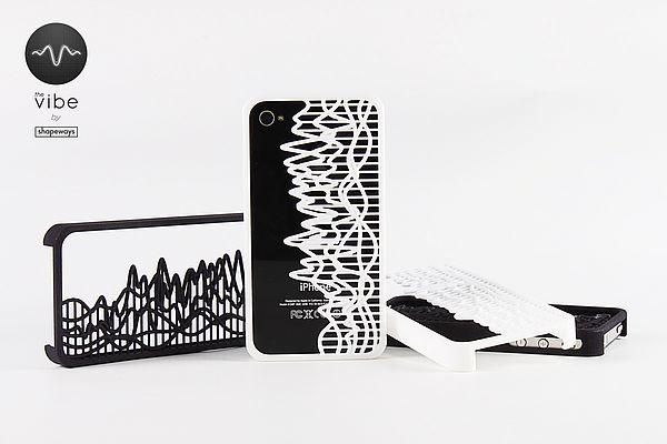 3D print for custom iPhone case from Shapeways