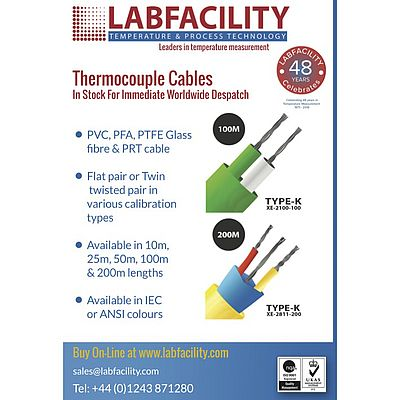 Flat Pair & Twin Twisted Pair Thermocouple Cables