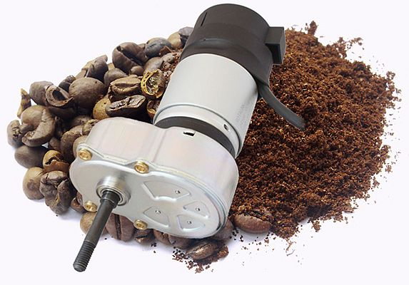 Innovative Gear Motors Help to Make Fresh Coffee