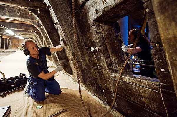 Research and Development Cooperation between Sandvik and Vasa Museum