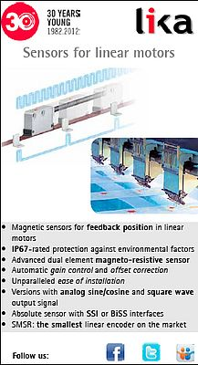 Sensors for linear motors
