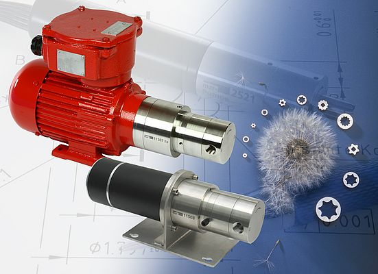 Ultra-compact Gear Pumps