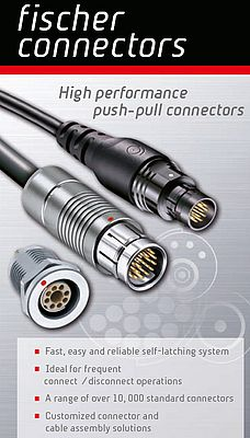 High performance push-pull connectors