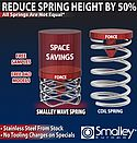 Smalley Steel Ring Company Offers Metric Wave Springs