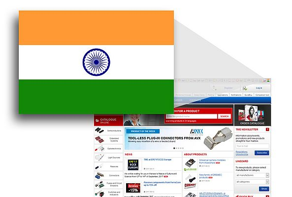 TME's website now available in Hindi