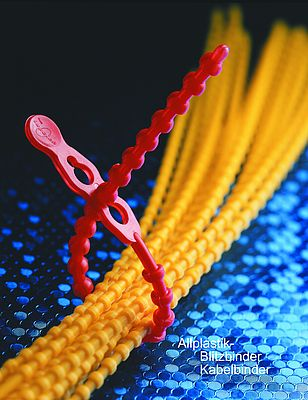 Allplastik quick fasteners and cable ties