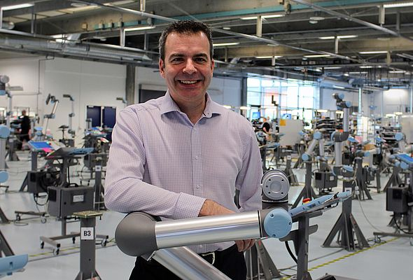 New Sales Manager in Universal Robots