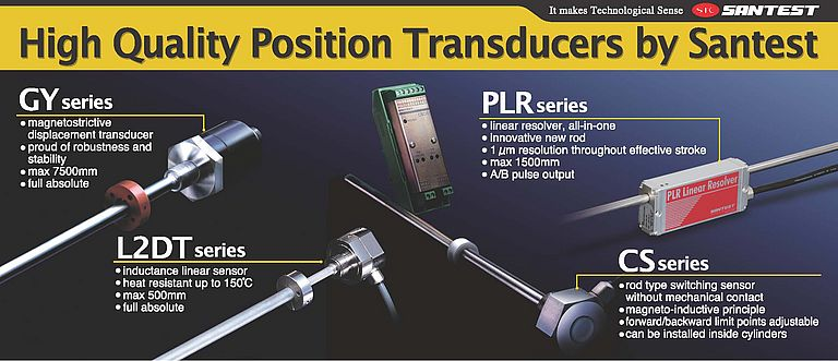 Santest High Quality Position Transducers