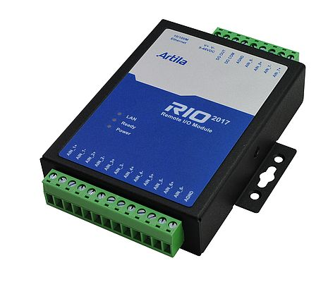 Web Enabled Remote I/O Module RIO-2017