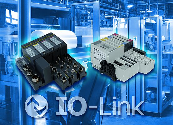 The BL20 and BL67 modular I/O systems become IO-Link-capable with the new master modules.