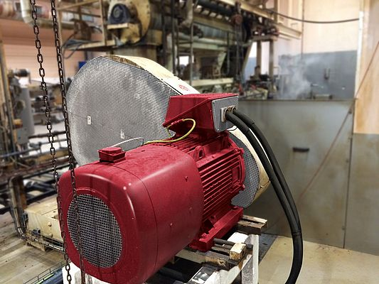 Permanent Magnet Motor Saves Money for Fish Feed Producer