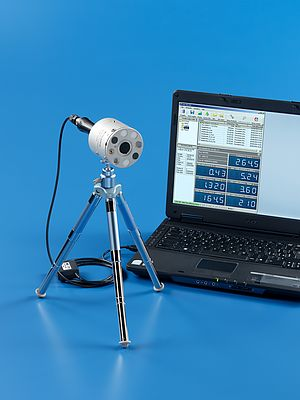Portable Photo-radiometer Data Logger