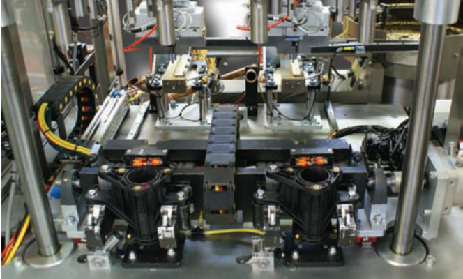 Servo-controlled insertion machine speeds production of assemblies