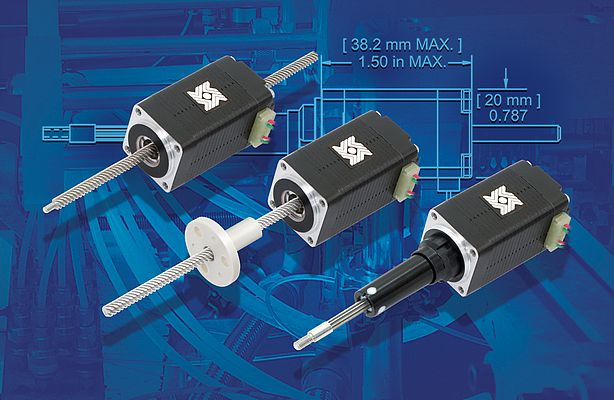 Double-Stack Linear Actuators 21000 Series
