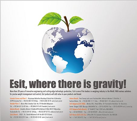 Esit, where there is gravity!