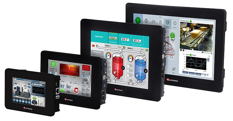 UniStream, the award winning Programmable Controllers Series with integrated HMI by Unitronics