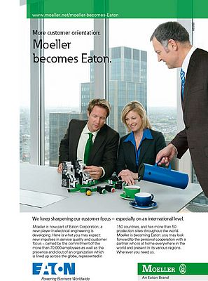 More innovation, Moeller becomes Eaton
