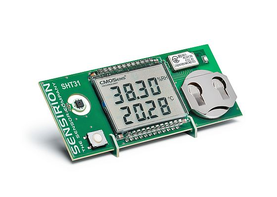 Kit for Wireless Humidity and Temperature Sensors Smart Gadget