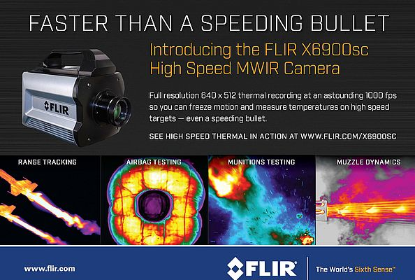 FLIR X6900sc High Speed MWIR Camera