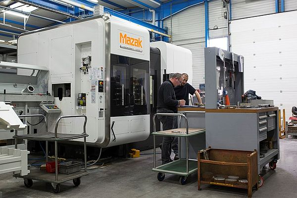 Robin Technologies utilizes the latest generation machine tools, including a range of Mazak Integrex machine tools