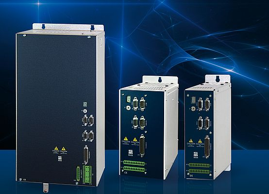 Customized solutions for̈ various fields of application: the drive amplifier series SD2S