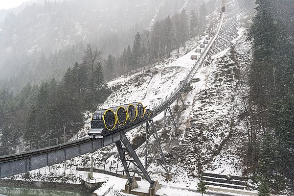 Low-Voltage Motors in the Swiss Alps