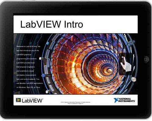 LabVIEW su iPad