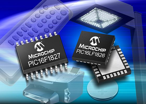 Microcontroller a 18-pin