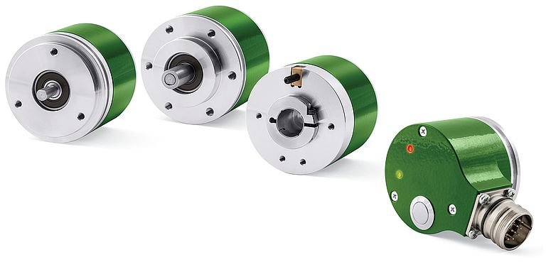 Encoder incrementali IQ58 e IP58