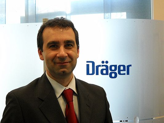 Giampiero Moroni, Marketing Manager Dräger Italia