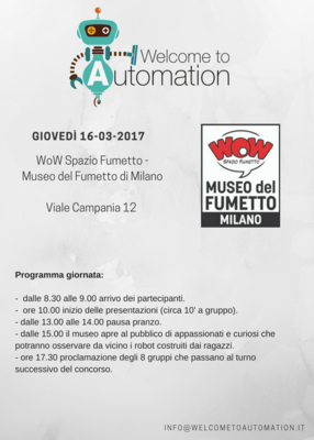 "Concorso ""Welcome to Automation"" di Balluff"