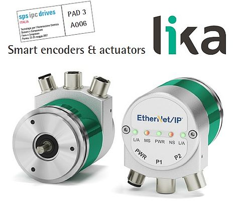 Encoder con interfaccia Ethernet