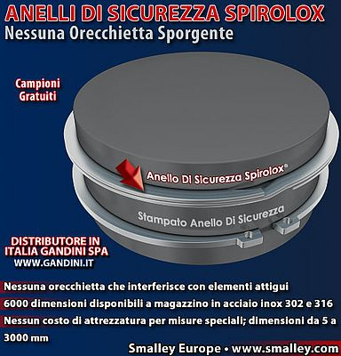 Disponibilità immediata di Anelli di Sicurezza