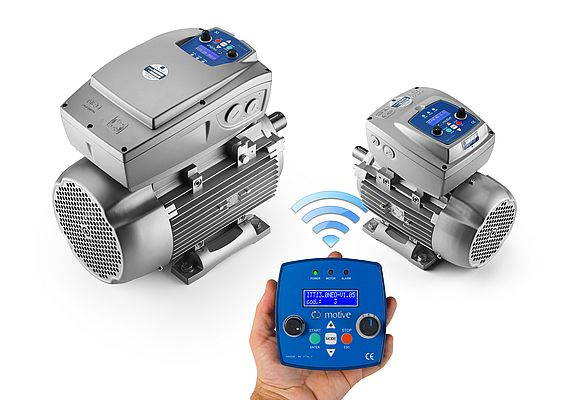 Motoinverter con tastiera wireless