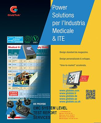 Power Solution per l'industria medicale