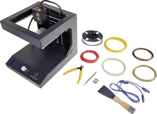 Stampante 3D Makerfactory Starter-Kit RF100 V2