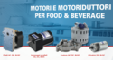 Motori e motoriduttori per Food & Beverage