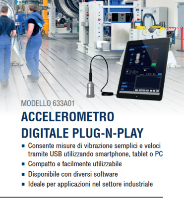 Accelerometro digitale plug-n-play