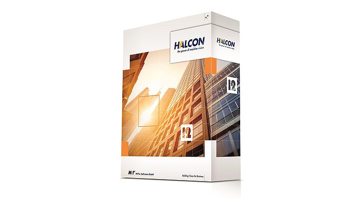 Software di visione industriale HALCON 12