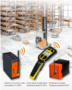 Sicurezza wireless per intralogistica