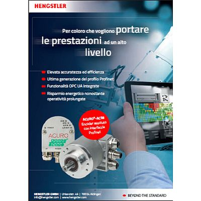 Encoder assoluto con interfaccia Profinet