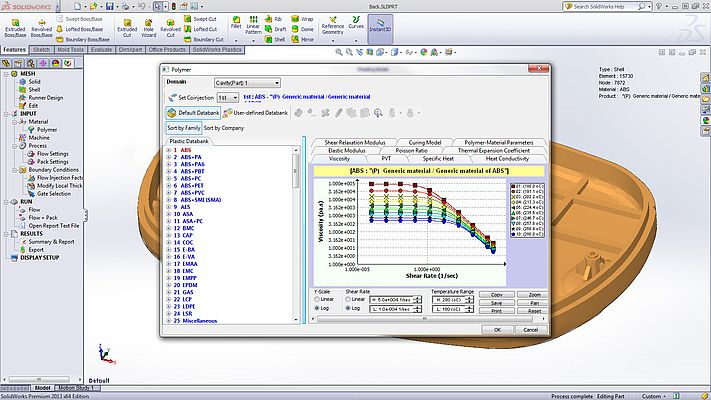 Software Solidworks Plastics