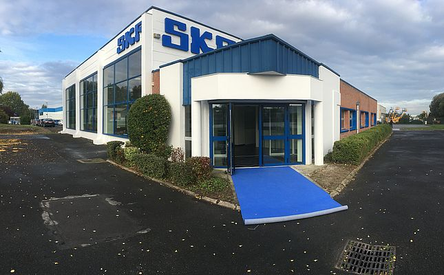 Nuovo test centre europeo di SKF