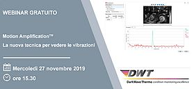 Motion Amplification, Webinar gratuito il 27 novembre