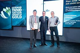 Non-invasive Sensor wins Gold in German Innovation Awards