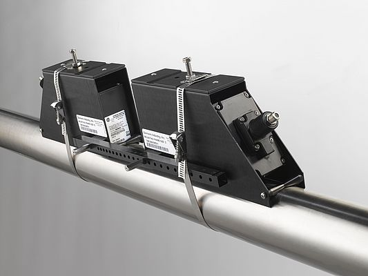 A Perfect Match: Optimizing clamp-on flow measurement with Lamb-wave sensors