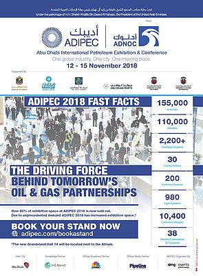 ADIPEC 2018: One Global Industry. One City. One Meeting Place.