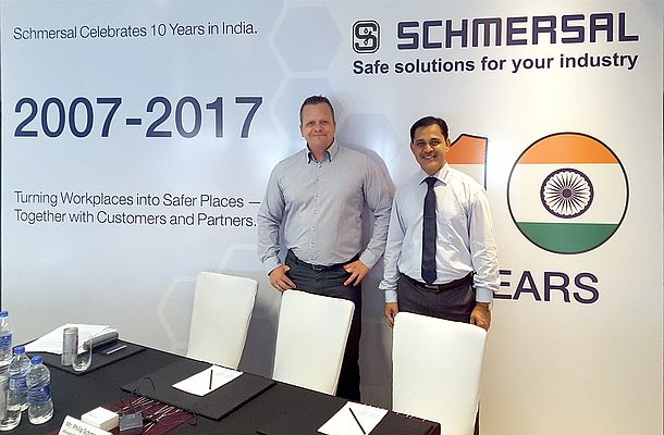 Ten-year Anniversary for Schmersal India