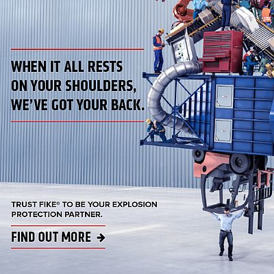 Trust FIKE to be your explosion protection partner