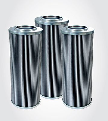 Replacement filter elements of the NR-630 range with glass-fibre filter media.